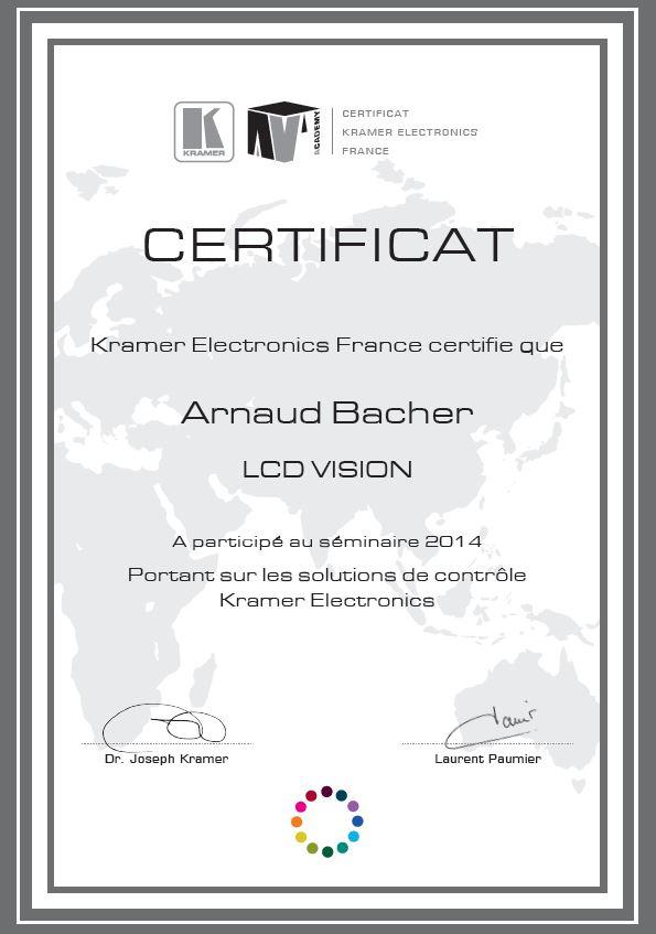 Kramer - Arnaud Bacher